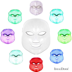 PDT phototherapy face mask with 7 colours by IDEALDERM