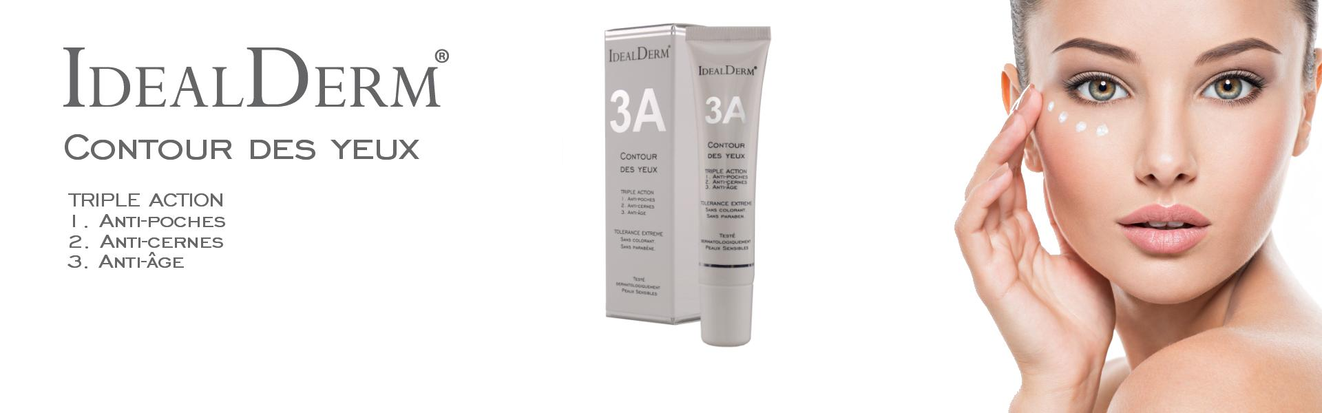 3 Actions Eye contour cream